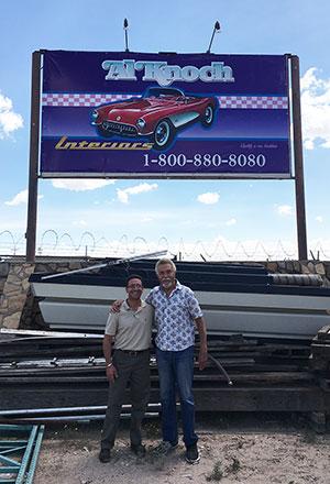 Picture of Al Knoch, Al Knoch Corvette Interiors & Leiferman Enterprise President Jacob Leiferman