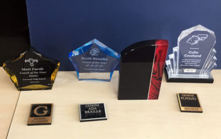 Awards & Trophies samples