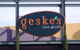 geske's Channel-Letters Sign