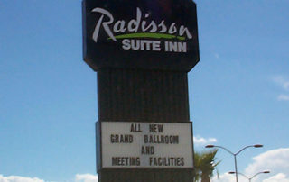 Radisson Marquee-Sign