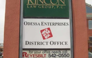 Office Building Monument sign
