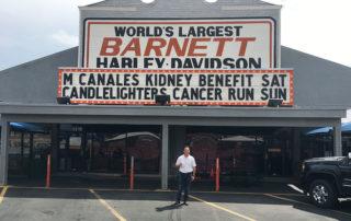 Barnett Harley Davidson Texas sign