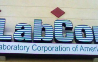 Channel-Letter sign-LabCorp