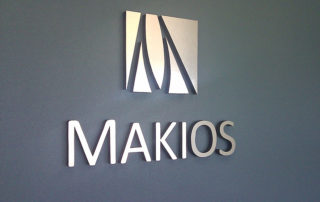 Makios -Interior Cut-out Sign